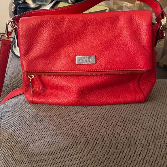 Kate Spade jacks in medium flap shoulder bagg